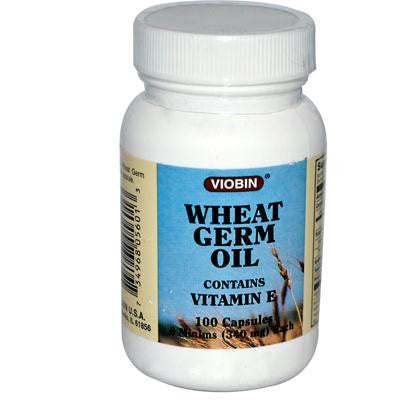 Picture of Viobin Wheat Germ Oil - 340 mg - 100 Capsules