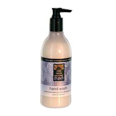 Picture of One With Nature Dead Sea Mineral Restorative Hand Wash Lavender - 12 fl oz