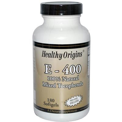 Picture of Healthy Origins E-400 - 400 IU - 180 Softgels