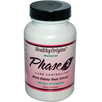 Picture of Healthy Origins Phase 2 Starch Neutralizer - 500 mg - 90 Capsules