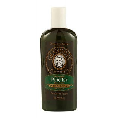 Picture of Grandpa's Wonder Pine Tar Moisturing Bath and Shower Gel with Vitamin E - 8 fl oz