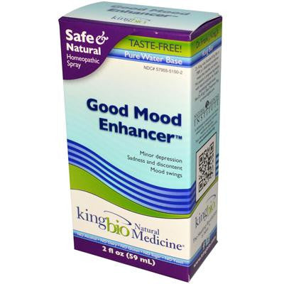 Picture of King Bio Homeopathic Good Mood Enhancer - 2 fl oz