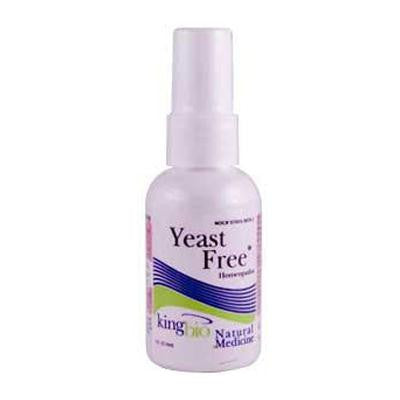 Picture of King Bio Homeopathic Yeast Free - 2 fl oz