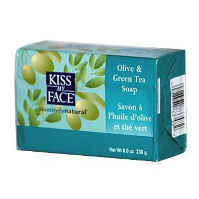 Picture of Kiss My Face Bar Soap Olive and Green Tea - 8 oz
