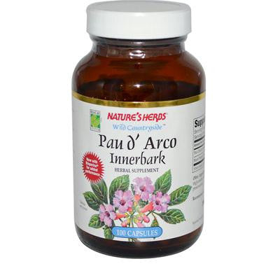 Picture of Nature's Herbs Pau D'Arco Innerbark - 100 Capsules