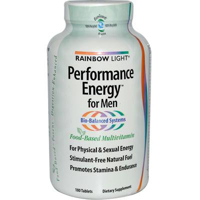 Picture of Rainbow Light Performance Energy Multivitamin for Men - 180 Tablets