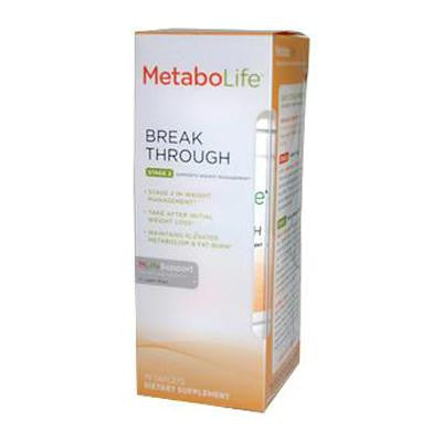 Picture of Metabolife Break Through Stage 2 Ephedra Free Formula - 90 Caplets
