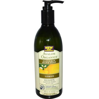 Picture of Avalon Organics Glycerin Liquid Hand Soap Lemon - 12 fl oz
