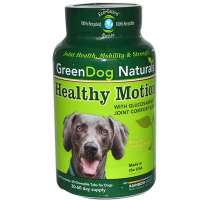 Picture of GreenDog Naturals Healthy Motion for Dogs Natural Chicken - 60 Chewables