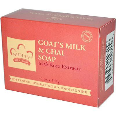 Picture of Nubian Heritage Bar Soap Goat's Milk And Chai - 5 oz