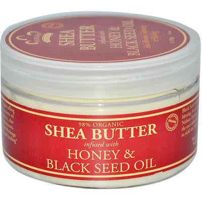 Picture of Nubian Heritage Shea Butter Infused With Honey And Black Seed Oil - 4 oz