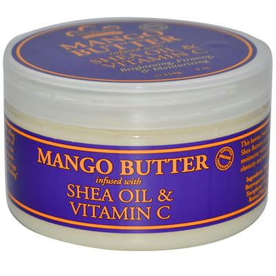 Picture of Nubian Heritage Mango Butter Infused with Shea Oil and Vitamin C - 4 oz