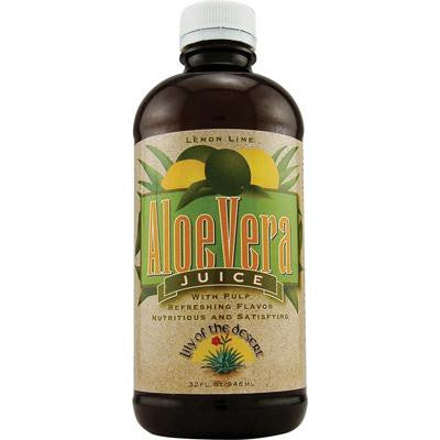 Picture of Lily of the Desert Aloe Vera Juice Lemon Lime - 32 fl oz