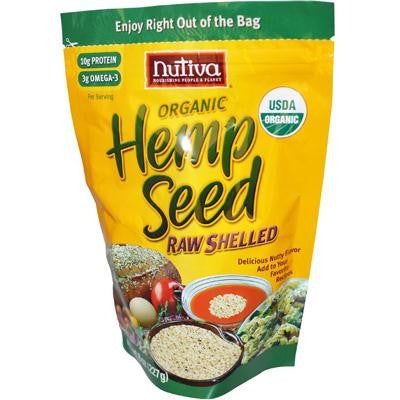 Picture of Nutiva Organic Shelled Hempseed - 8 oz - Case of 6
