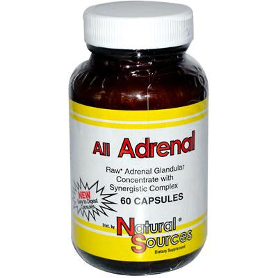 Picture of Natural Sources All Adrenal - 60 Capsules
