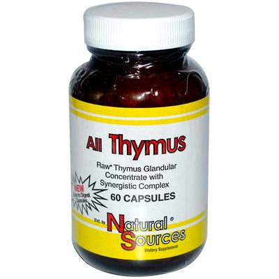 Picture of Natural Sources All Thymus - 60 Capsules
