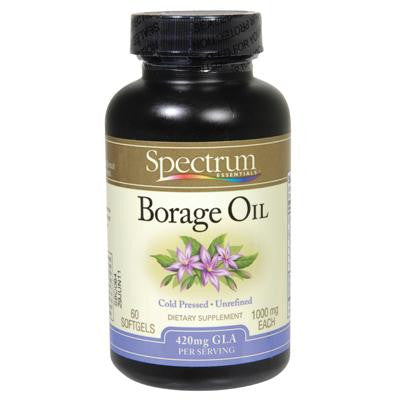 Picture of Spectrum Essentials Borage Oil - 1000 mg - 60 Caps