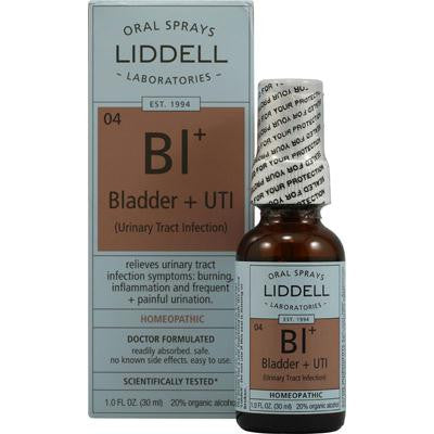 Picture of Liddell Homeopathic Bladder and UTI Spray - 1 fl oz