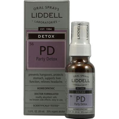 Picture of Liddell Homeopathic Detox PD Party Detox - 1 fl oz