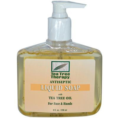 Picture of Tea Tree Therapy Antibacterial Liquid Soap with Tea Tree Oil - 8 fl oz
