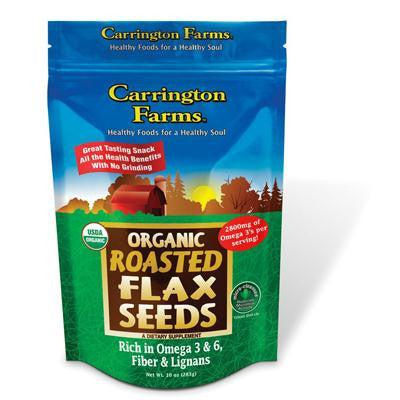 Picture of Carrington Farms Flax Seed - Roasted Organic - Case of 6 - 10 oz