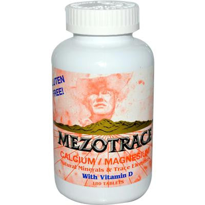 Picture of Mezotrace Calcium Magnesium with Vitamin D - 180 Tablets
