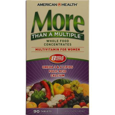 Picture of American Health More Than A Multiple Whole Food Concentrates For Women - 90 Tablets