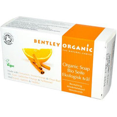 Bentley Organic Soap - Revitalizing with Cinnamon Sweet Orange and Clove Bud - 5.3 oz