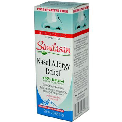 Picture of Similasan Nasal Allergy Relief - 0.68 fl oz