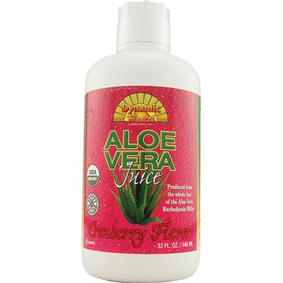 Picture of Dynamic Health Organic Aloe Vera Juice Cranberry - 32 fl oz