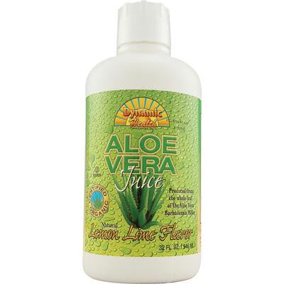 Picture of Dynamic Health Organic Aloe Vera Juice Lemon Lime - 32 fl oz