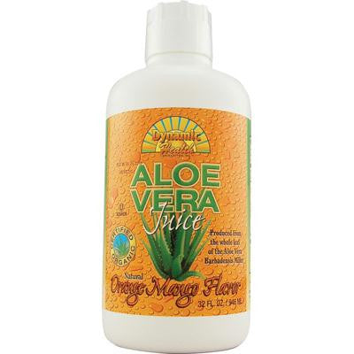 Picture of Dynamic Health Organic Aloe Vera Juice Orange Mango - 32 fl oz