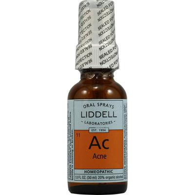 Picture of Liddell Homeopathic Ac Acne - 1 fl oz