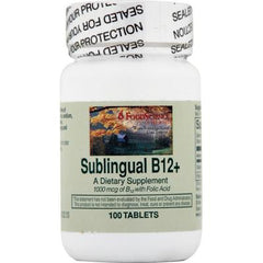 FoodScience of Vermont Sublingual B12 Cherry - 100 Tablets
