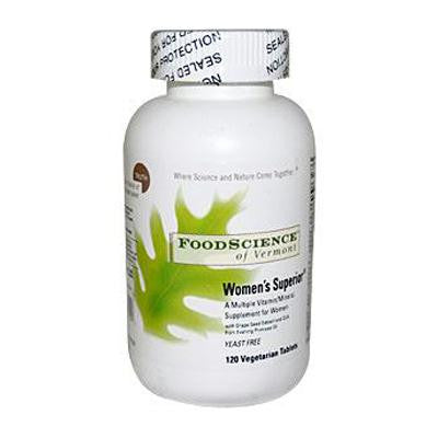 Picture of FoodScience of Vermont Women's Superior - 120 Tablets