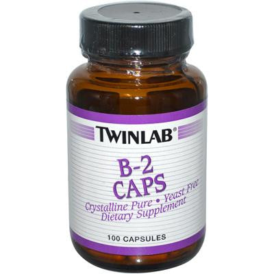 Picture of Twinlab B-2 Caps - 100 mg - 100 Capsules