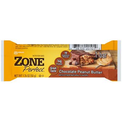 Picture of Zone Nutrition Bar - Chocolate Peanut Butter - Case of 12 - 1.76 oz