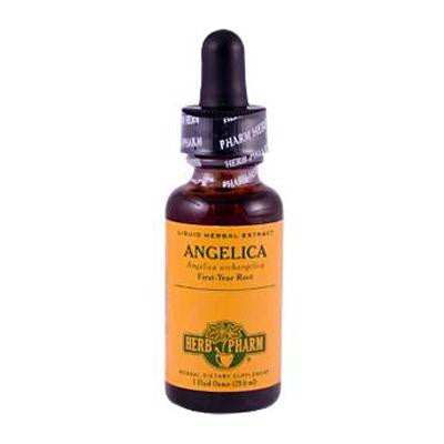 Picture of Herb Pharm Angelica Liquid Herbal Extract - 1 fl oz