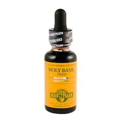 Picture of Herb Pharm Holy Basil Tulsi Liquid Herbal Extract - 1 fl oz