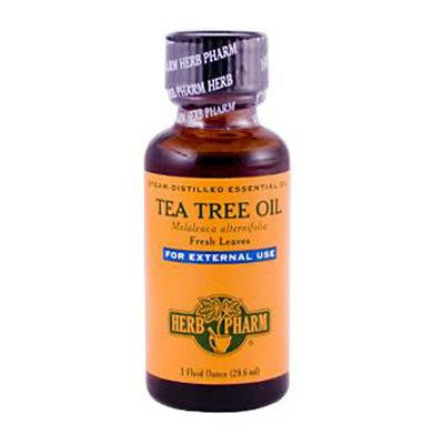 Picture of Herb Pharm Tea Tree Oil Steam-Distilled Essential Oil - 1 fl oz