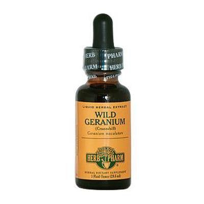Picture of Herb Pharm Wild Geranium Liquid Herbal Extract - 1 fl oz