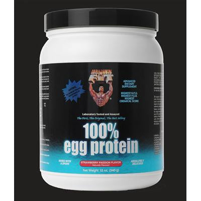 Picture of Healthy 'N Fit 100 Percent Egg Protein - Strawberry Passion - 12 oz
