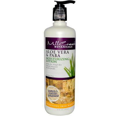 Picture of Mill Creek Aloe Vera and PABA Moisturizing Lotion - 16 fl oz