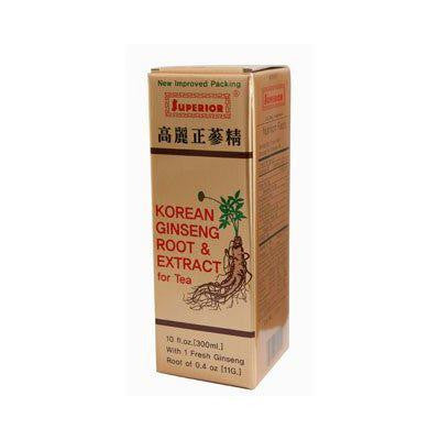 Picture of Superior Trading Co. Korean Ginseng Root and Ext - 10 oz