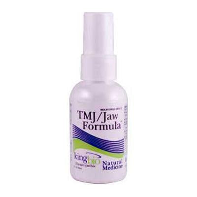 Picture of King Bio Homeopathic TMJ Jaw Formula - 2 fl oz
