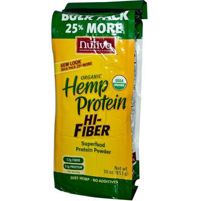 Picture of Nutiva Organic Hemp Protein Plus Fiber - 30 oz