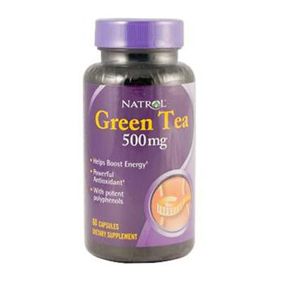 Picture of Natrol Green Tea - 500 mg - 60 Capsules