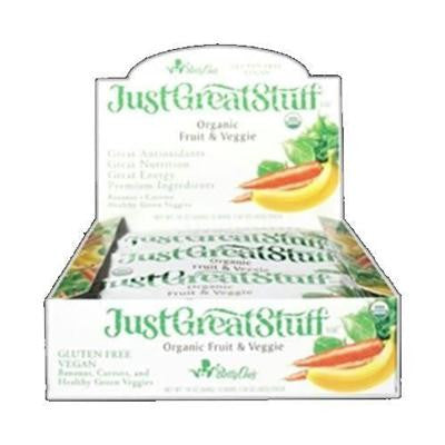 Picture of Betty Lou's Bar - Organic Fruit and Veggie - Case of 12 - 1.5 oz