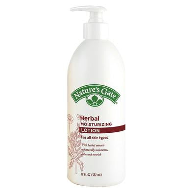 Picture of Nature's Gate Herbal Moisturizing Lotion - 18 oz