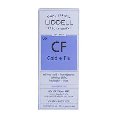 Picture of Liddell Homeopathic Cold and Flu Spray - 1 fl oz